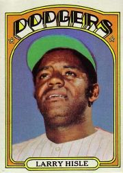 1972 Topps Baseball Cards      398     Larry Hisle